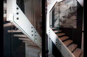 13_35 balustrada MASTER POINT na schodach Nidek