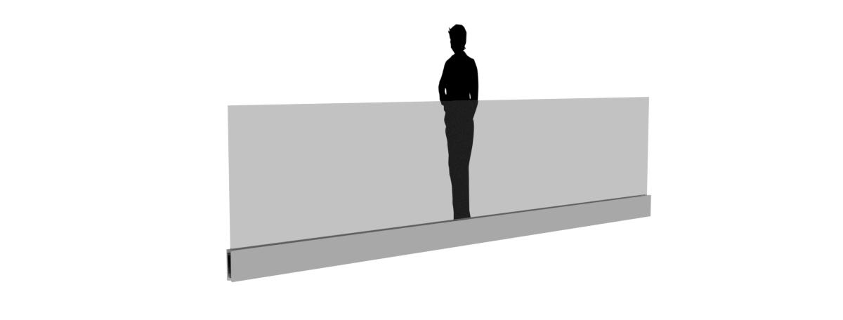 balustrada modern line