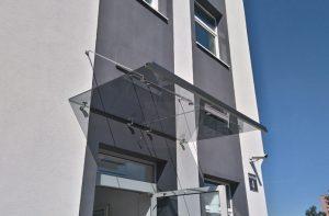 17_12 daszek szklany z obróbką MAGIC WAND Katowice